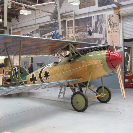 Completed Albatros DVa