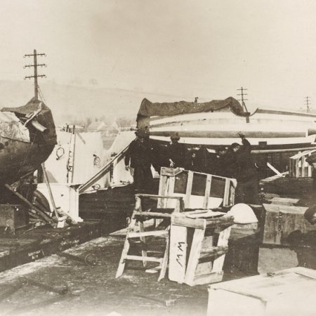 031 Albatros Fuselages On The Move