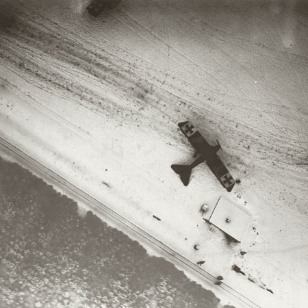 040 Airfield In Snow