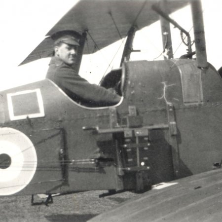 13 BE 2 Pilot In Cockpit With Camera Lincoln 1917