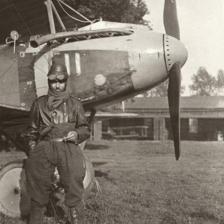 068 Albatros With Pilot In Flight Gear