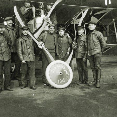 104 German Pilots In 1915 Celebration