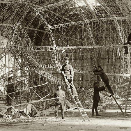 121 Zeppelin During Repair