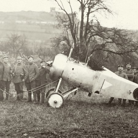 141 Nieuport 1834 Captured By German Unit