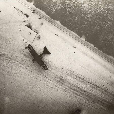162 Albatros BIIs From Above Briesdorf Flugplatz 13 Ja