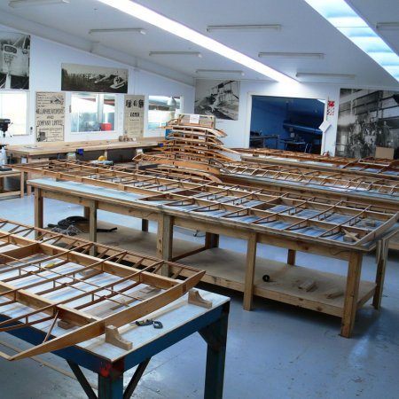 BE 2 E Wing Production
