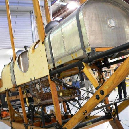 BE 2 Original Fuselage Detail