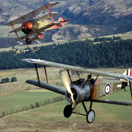 Classic Fighters 2003 Sopwith Camel And Fokker Riplane 3