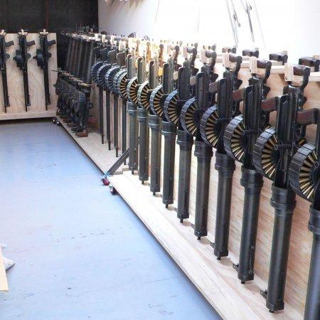 Gun Room Lewis Guns Rack