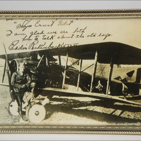 Pilots Possessions 008 Copy Of Note From Rickenbacker To Udet