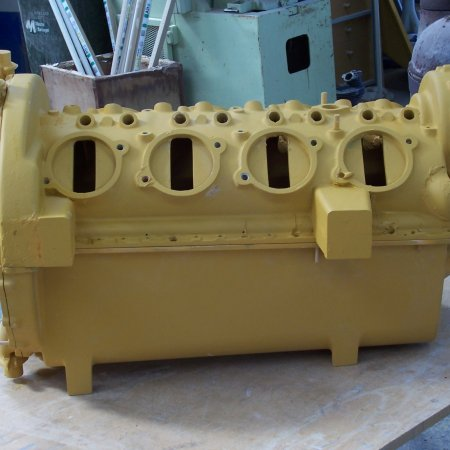 RAF 1 A Complete Crankcase Pattern 1