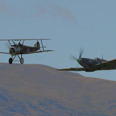 Wanaka 2004 Camel And Spitfire 1