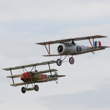 Wanaka 2006 JF Fokker And Nieuport 1