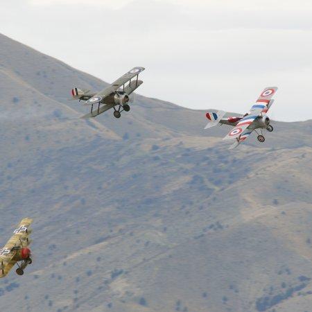 Wanaka 2006 JF Triplane Camel Nieuport 1