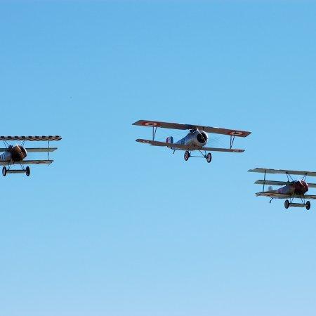 Wanaka 2006 JF Two Triplanes And Nieuport 2