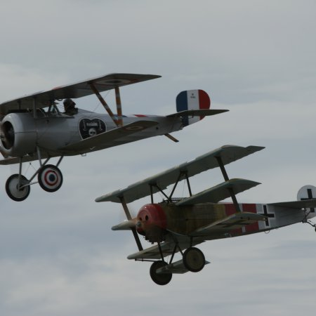 Wanaka 2006 Nieuport Dr 1 Fly By
